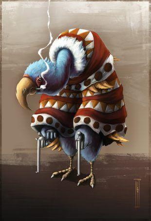 Vulture, creado por Litos López
