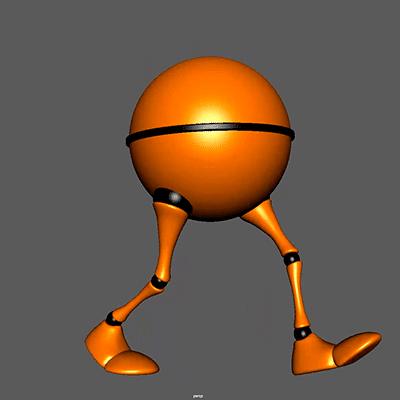 Curso online de animación 3D: Animación 3D de un ciclo de caminar