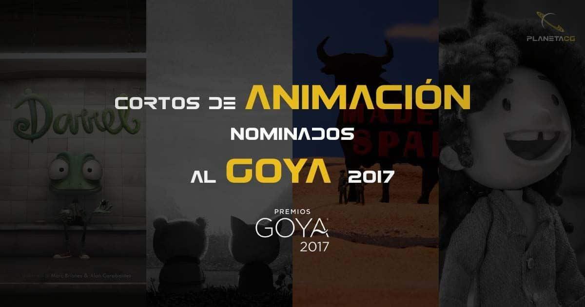 cortos de animación nominados al Goya 2017