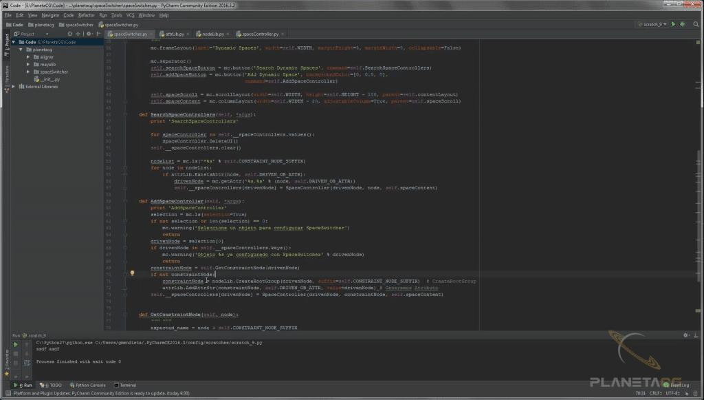 Curso Online de Python: Desarrollo de herramientas y scripts para Maya