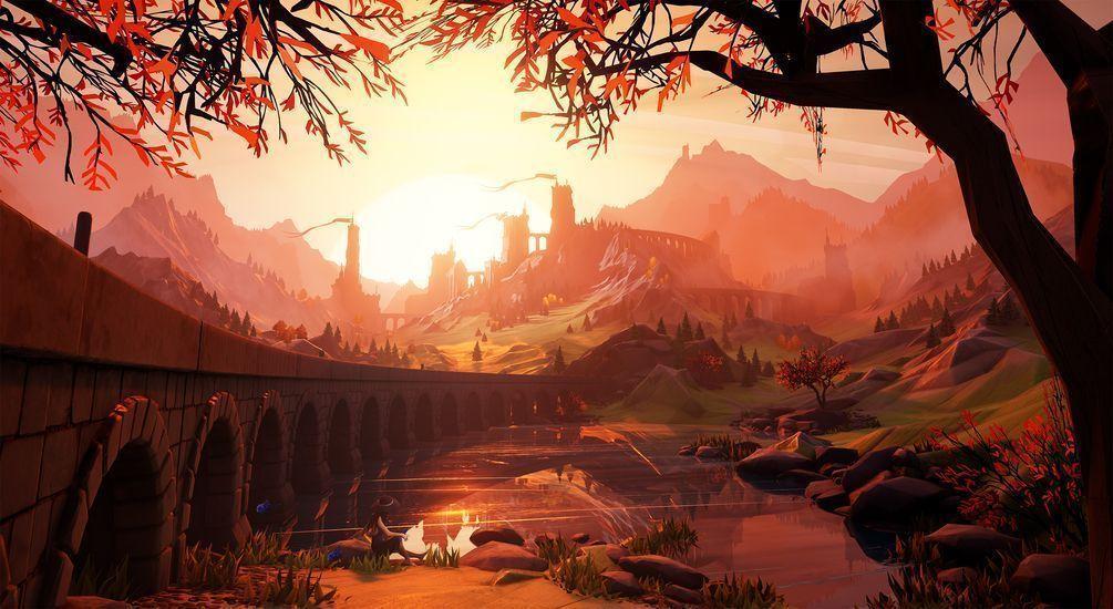 Escena Estilizada para Unreal Engine 4