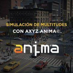 Curso de Anima AXYZ Design simulación de multitudes