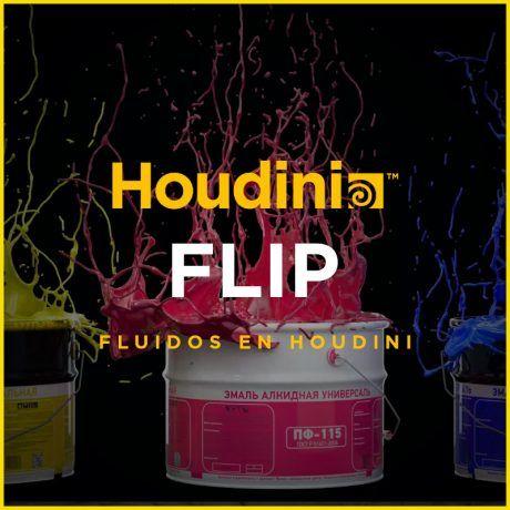 Curso de Houdini FLIP. Fluidos en SideFX Houdini.